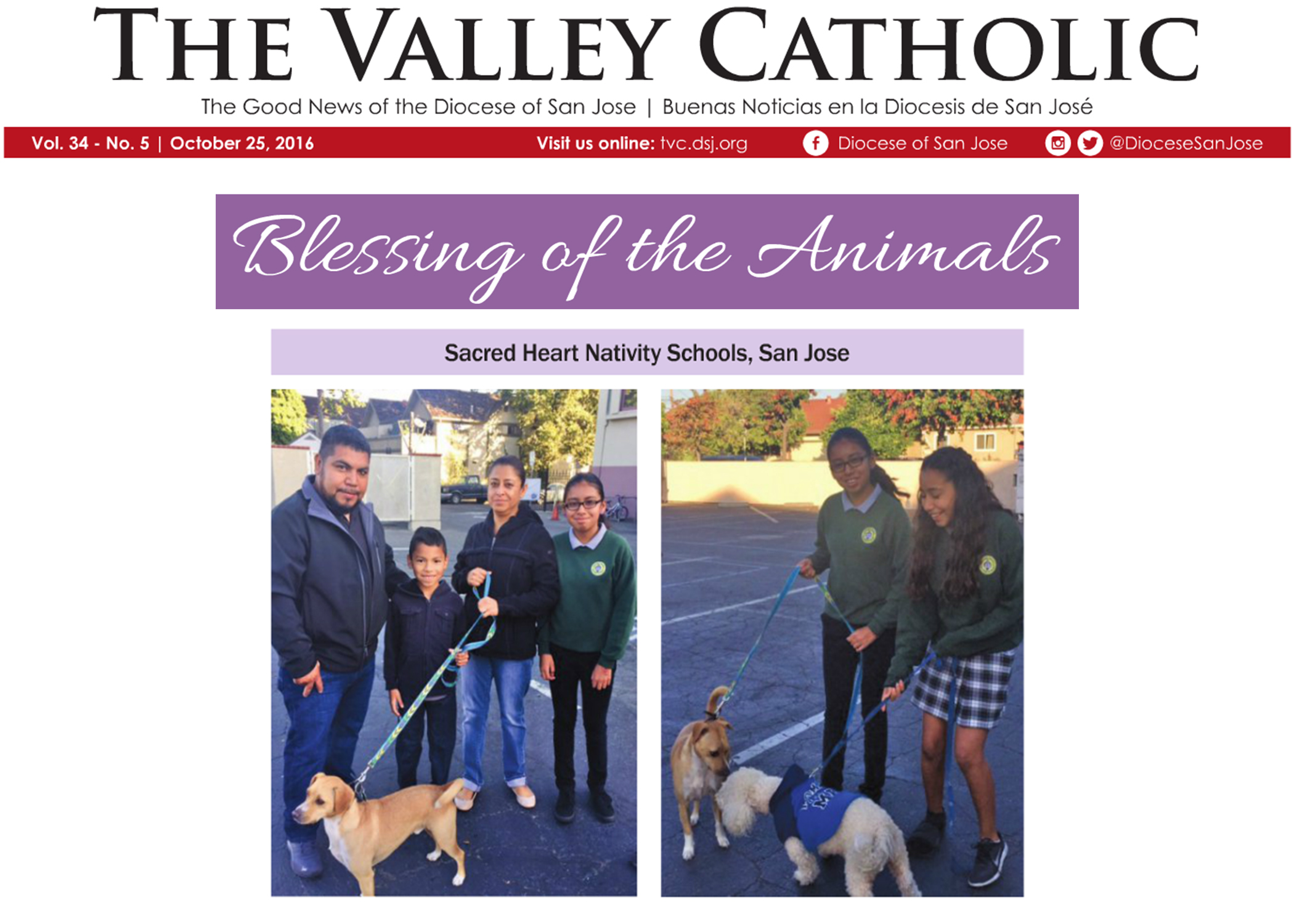 Videos and News Items - Sacred Heart Nativity Schools