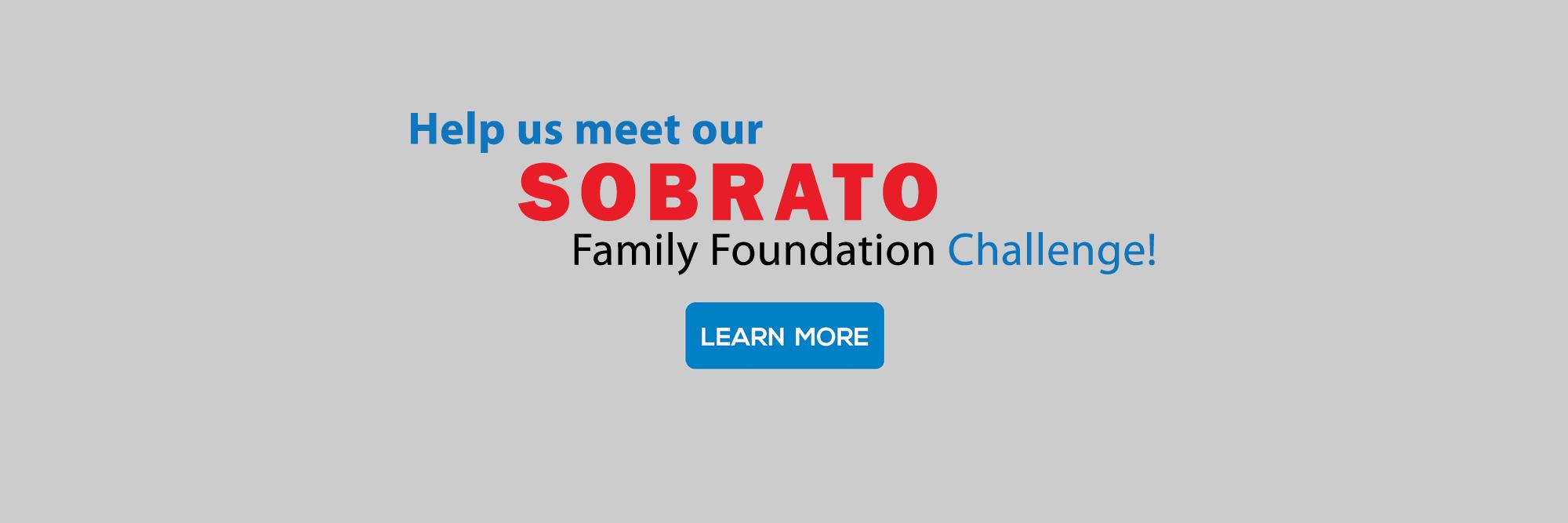 Take the Sobrato Family Foundation Challenge
